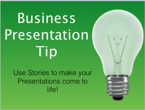 Business Presentation Tip
