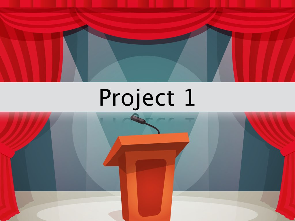 Essential Public Speaking Project One