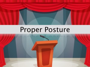 Essential Public Speaking Speaking Posture