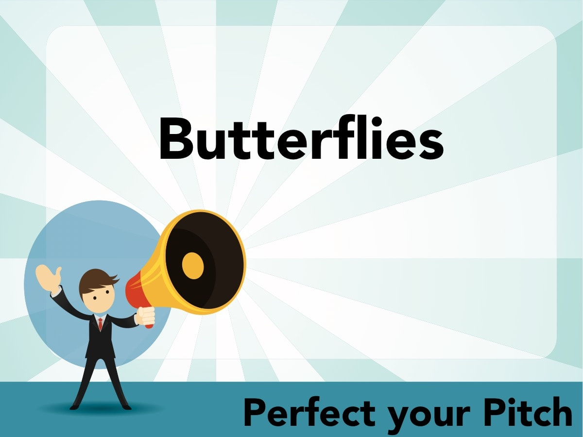 Perfect your Pitch - Butterflies